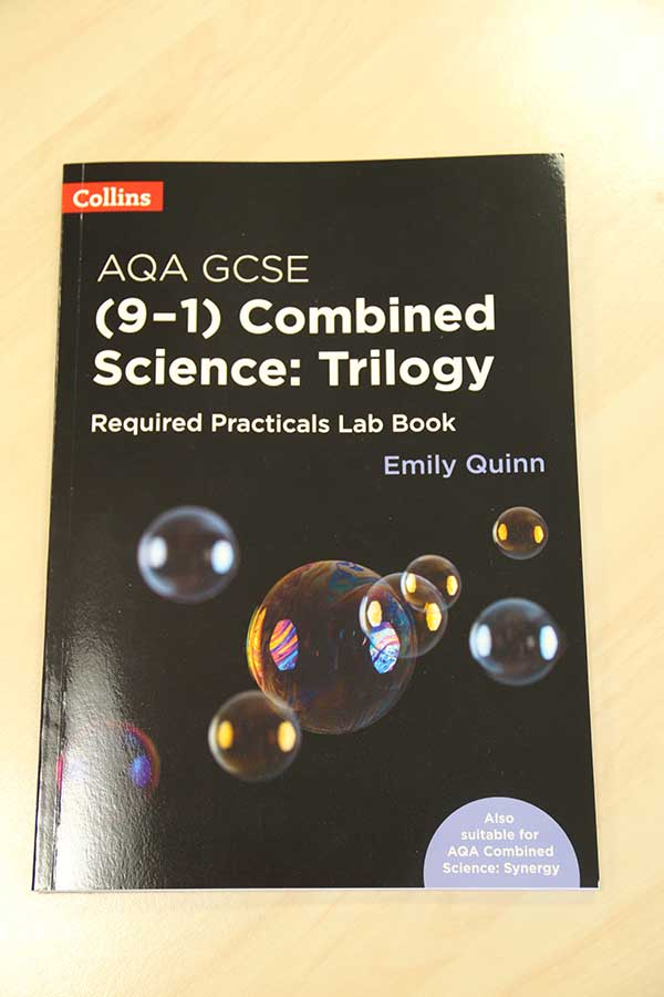 Lab books - combined science