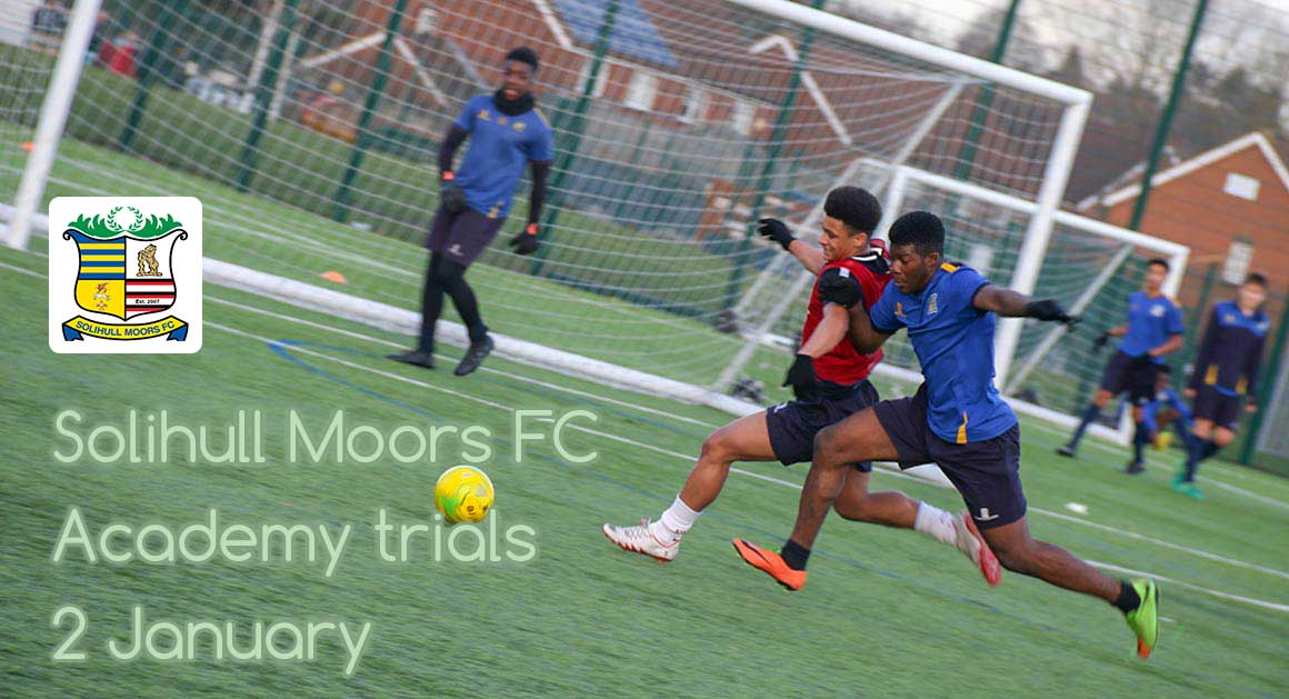 Solihull Moors FC - academy trials