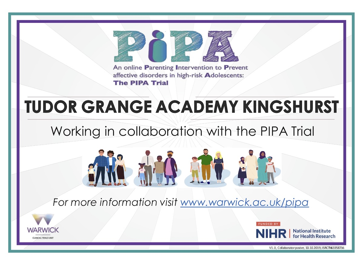 TGAK Working in collaboration with the PIPA Trial